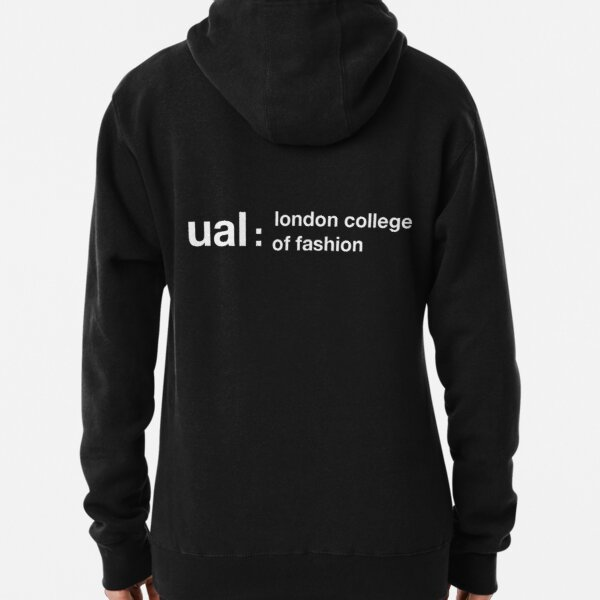 UAL London College of Fashion logo Pullover Hoodie