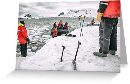Antarctic Arrival - Antarctica by JamesKaoFoto