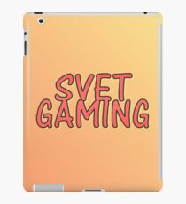 SVET Gaming | Amber Fade iPad Case/Skin
