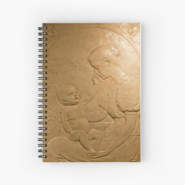 Mother and Child, 1894 Spiral Notebook