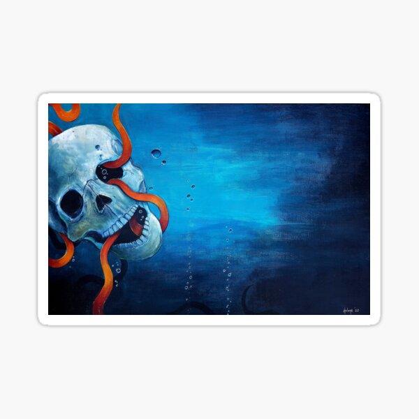 Ocean's Revenge Sticker