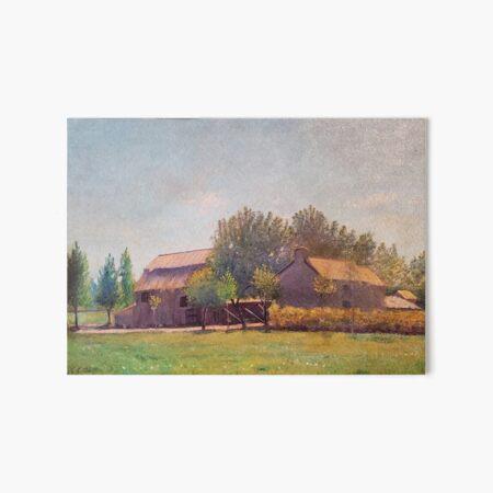 Village Road, Auvers-sur-Oise, c. 1890 Art Board Print