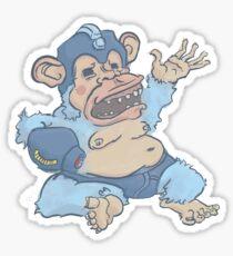 Mega Monkey - a Mega Man Adaptation Sticker