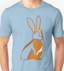 Golden Rabbit Wedding Design T-Shirt