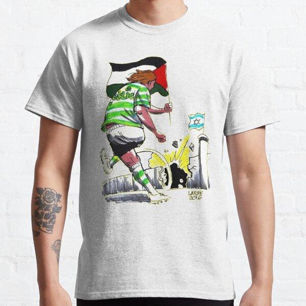 Celtic Palestine - Palestinian - Glasgow - Irish - Ireland - Solidarity Classic T-Shirt