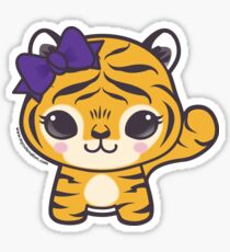 Tiger Girl, LSU Sticker
