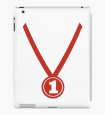 Medal winner champion iPad Case/Skin