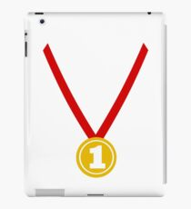 Medal champion winner iPad Case/Skin