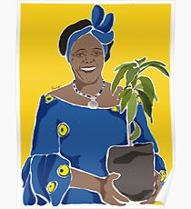 Wangari Maathai limited edition Poster
