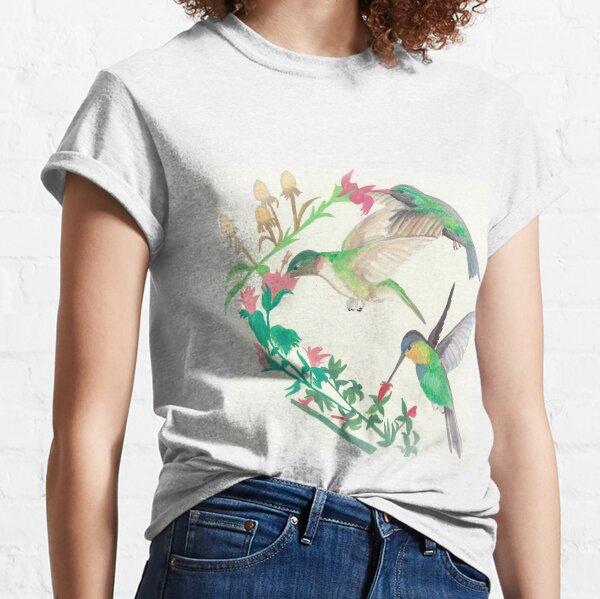 Hummingbirds in flight Classic T-Shirt