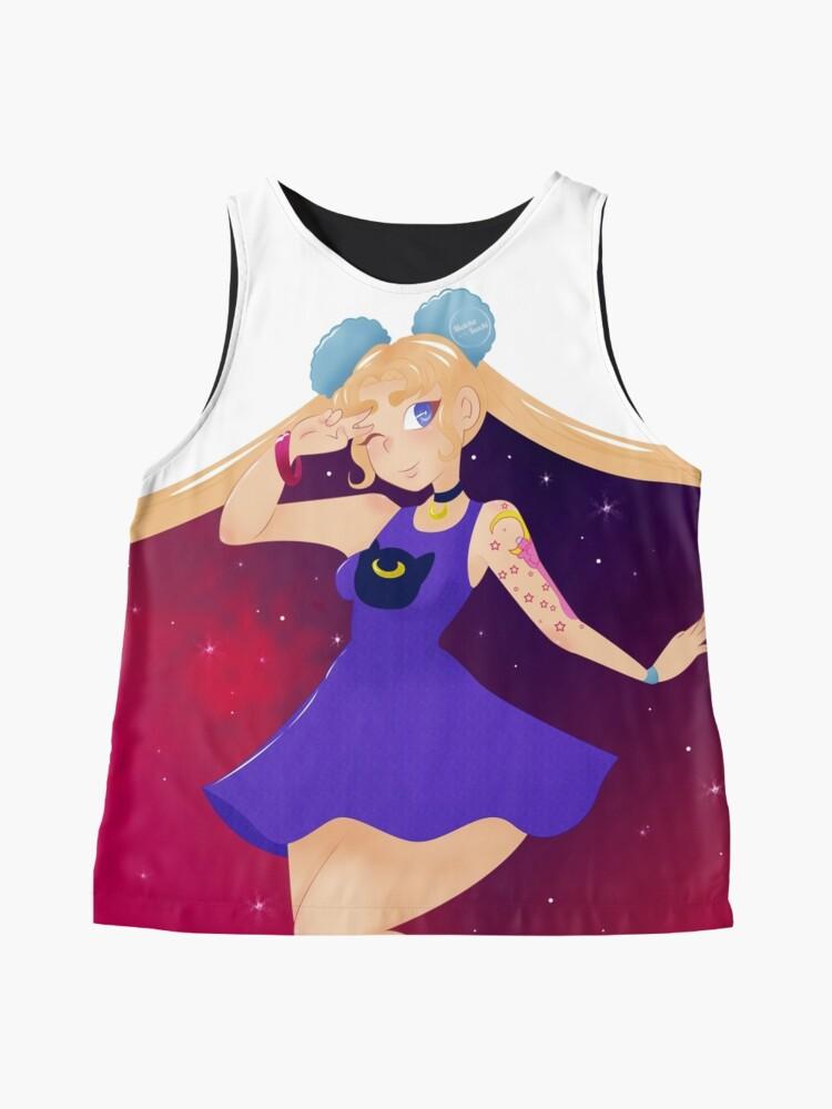 Alternate view of Galaxy SailorMoon Sleeveless Top