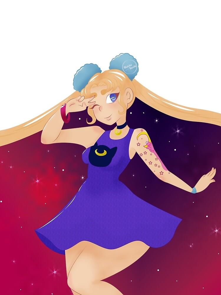 Galaxy SailorMoon by YremSycle