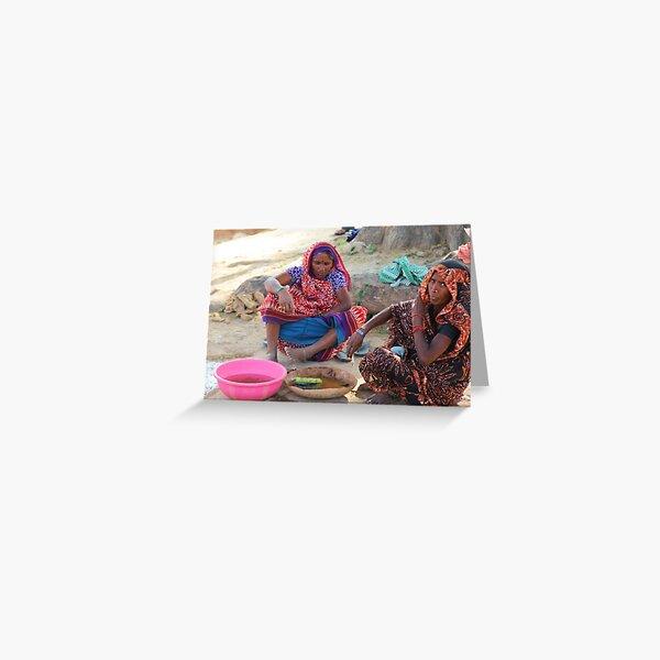 Sarnath Ladies Greeting Card