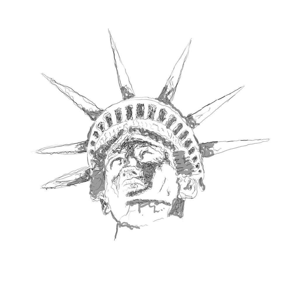 New York Line Art  by LISPY