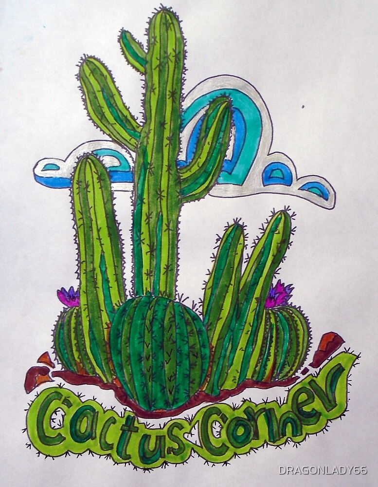 CACTUS CORNER by DRAGONLADY66