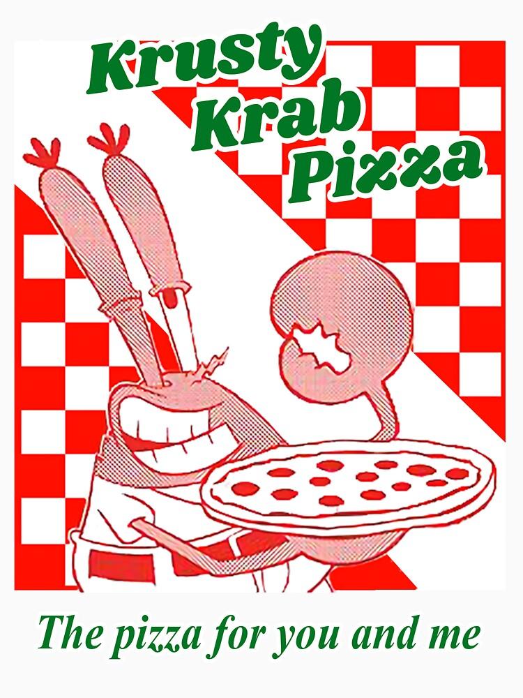 Krusty Krab Pizza by funtys