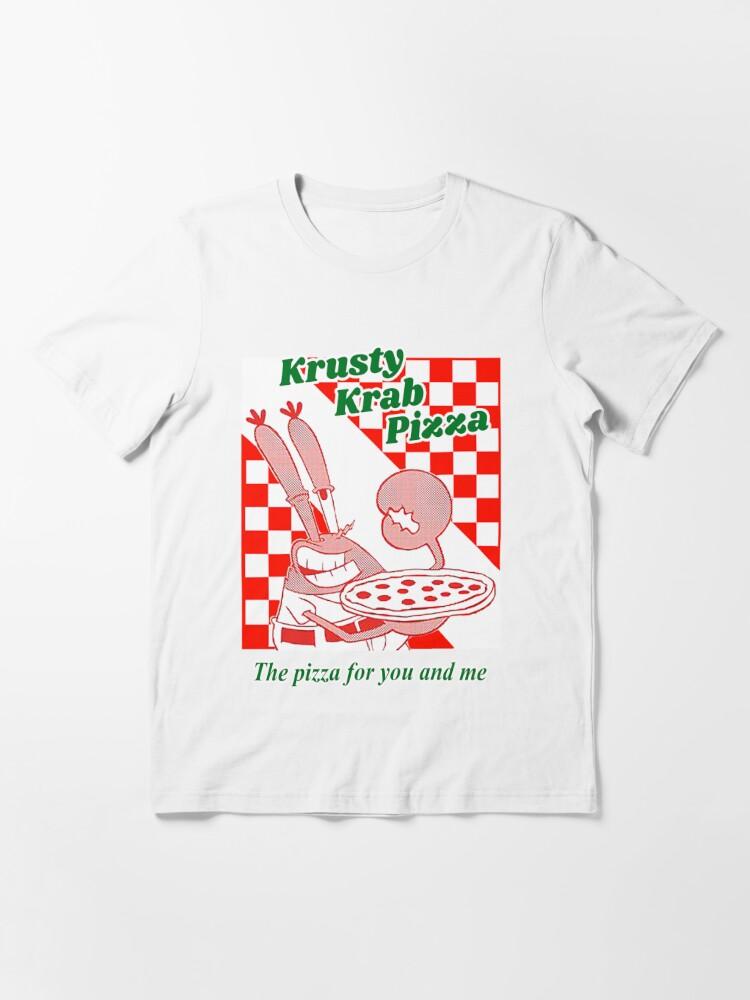 Alternate view of Krusty Krab Pizza Essential T-Shirt