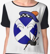 Scottish Ball Women's Chiffon Top