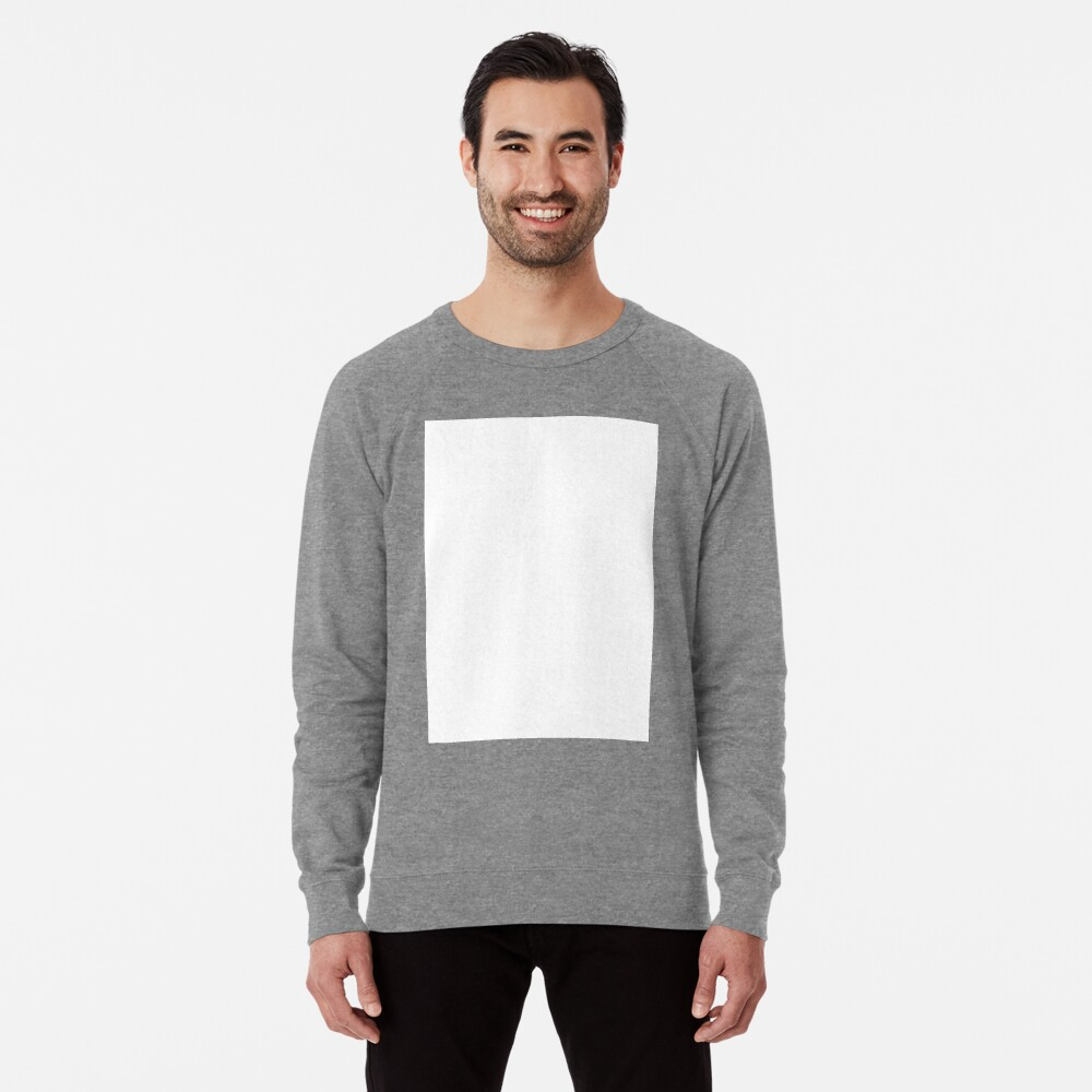 PLAIN WHITE | VERY WHITE | NEUTRAL SHADE | WE HAVE OVER 40 SHADES AND HUES IN THE NEUTRAL PALETTE Lightweight Sweatshirt