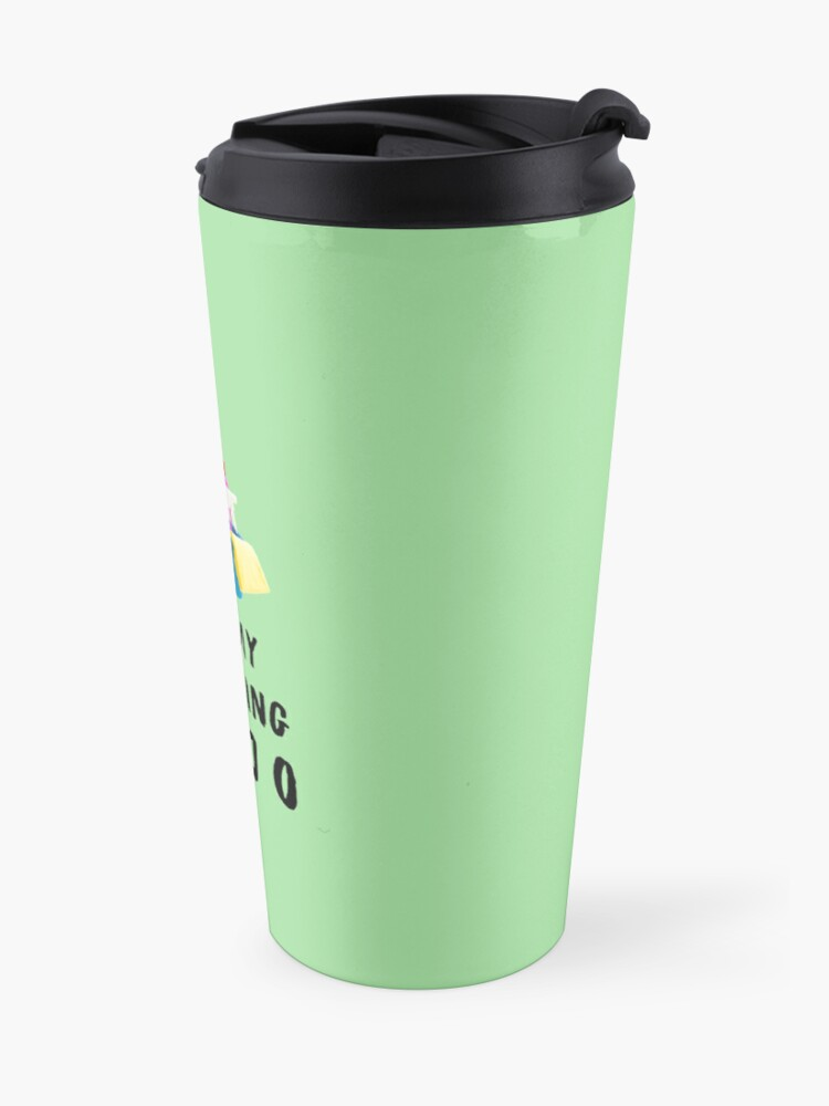 Alternate view of Got My Cleaning Mojo Housekeeper Cleaning Lady Fun Travel Mug