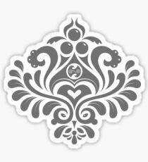 Labyrinth Damask Sticker