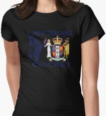 New Zealand Cricket Womens Fitted T-Shirt