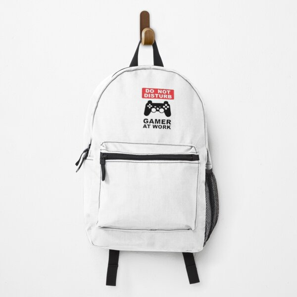 Do not disturb gamer at work  Backpack