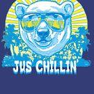 Bear Jus' Chillin' by MudgeStudios