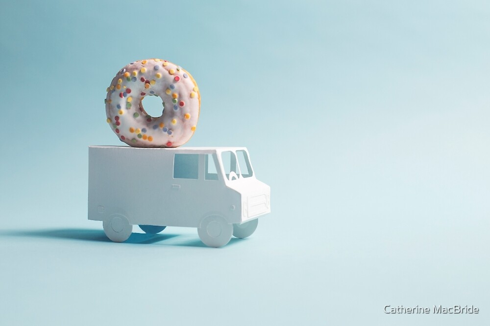 Delivering Donuts... by Catherine MacBride