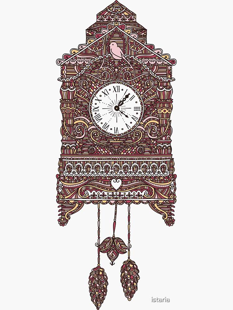 Autumn Cuckoo Clock by istaria