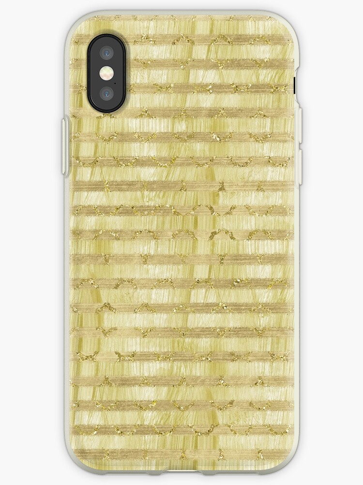 Gold Paint Glittery Stripes by pencreations