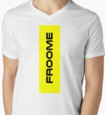 Chris Froome Yellow Men's V-Neck T-Shirt