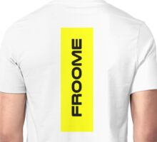 Chris Froome Yellow Unisex T-Shirt