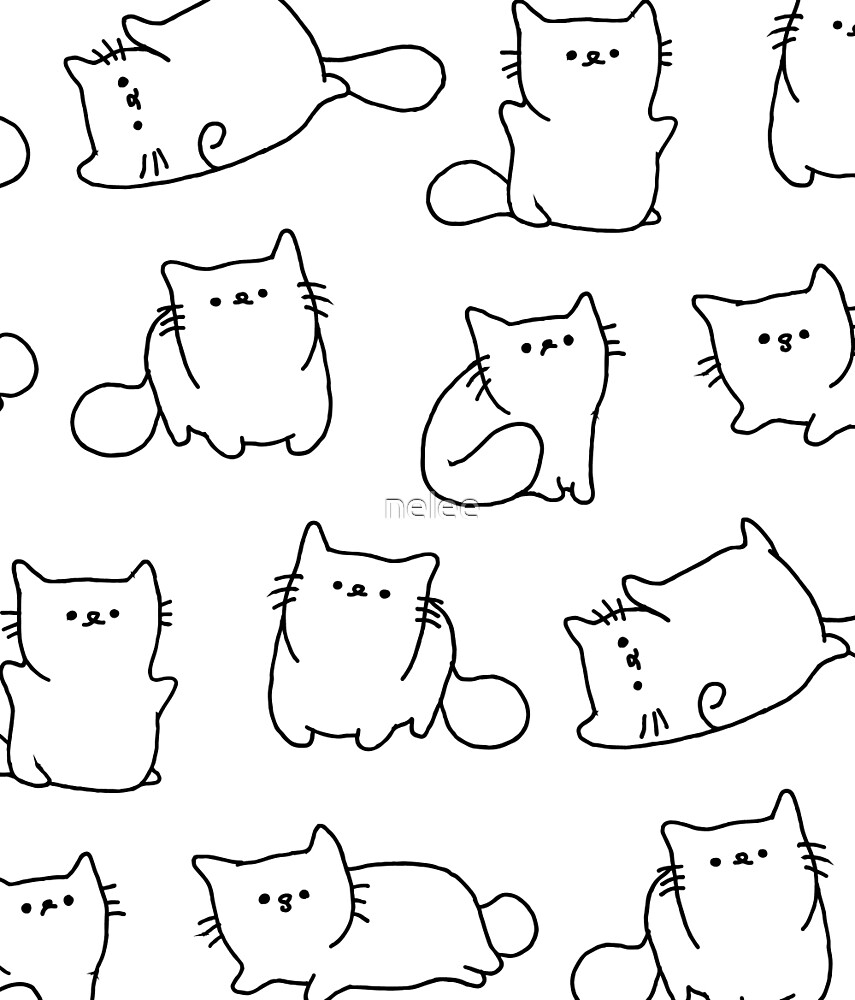 Meow Pattern by nelee