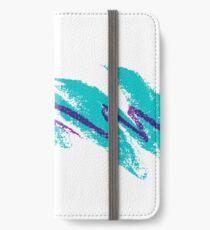 90er Jazz Jazz Cup iPhone Flip-Case/Hülle/Klebefolie