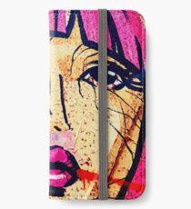 Berlin Pink Girl iPhone Wallet