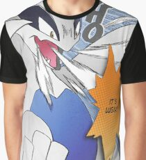 It's Lugia!! Manga Edit Graphic T-Shirt