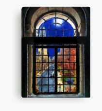 Harkness Tower in Moonlight Canvas Print