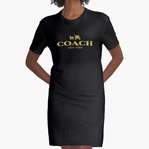 Coach New York Graphic T-Shirt Dress