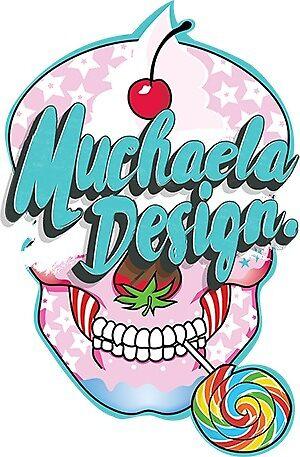 Muchaela Design Mini Sticker by muchaela