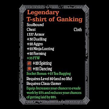 Warcraft - Legendary Of Ganking by ruffanthony