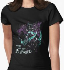 Warcraft - You Are Not Prepared Womens Fitted T-Shirt