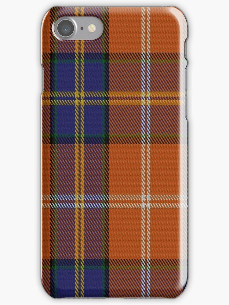01226 Mysterious Orange Fashion Tartan  by Detnecs2013