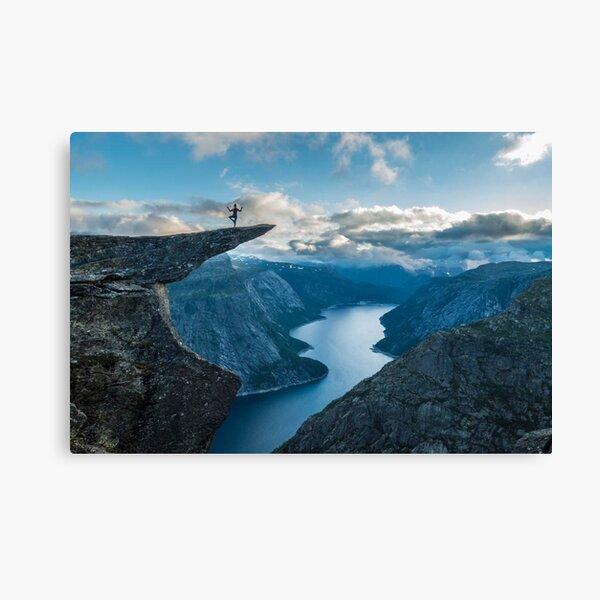 Trolltunga, Norway Canvas Print
