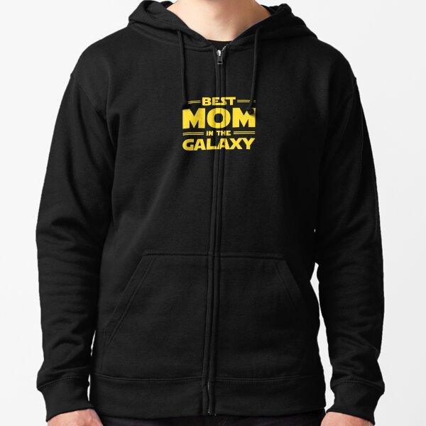 Best Mom in The Galaxy  Zipped Hoodie