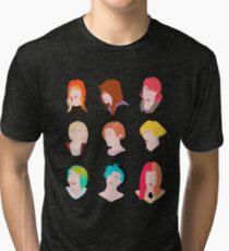hayley pattern Tri-blend T-Shirt