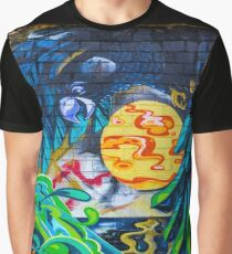 Street Art - Graffiti - Fremantle Western Australia 2015 Graphic T-Shirt