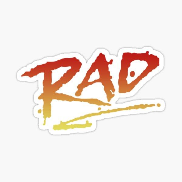 BMX RAD Sticker