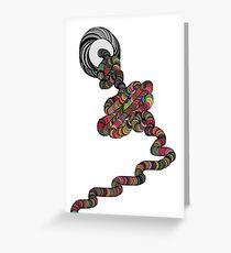 Yarn ball  Greeting Card