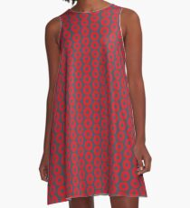 Phish Donut Fishman A-Line Dress